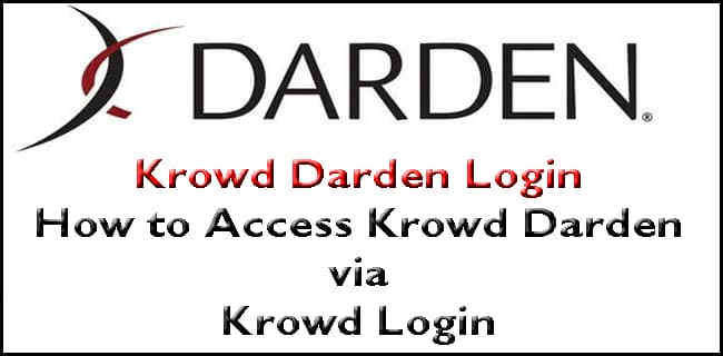 Krowd Darden login app