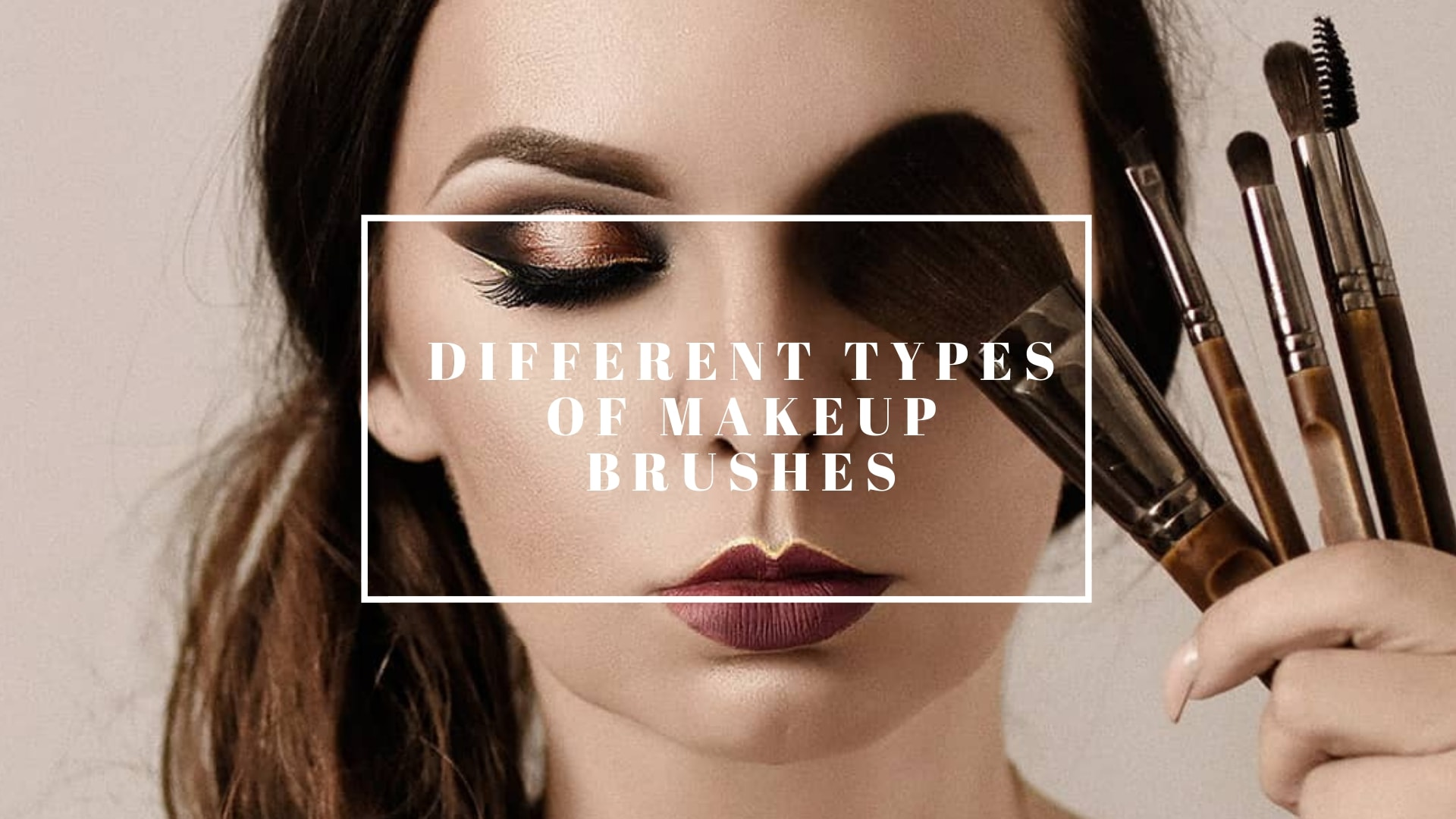 Why different types of makeup brushes and available in market and what are different types are?